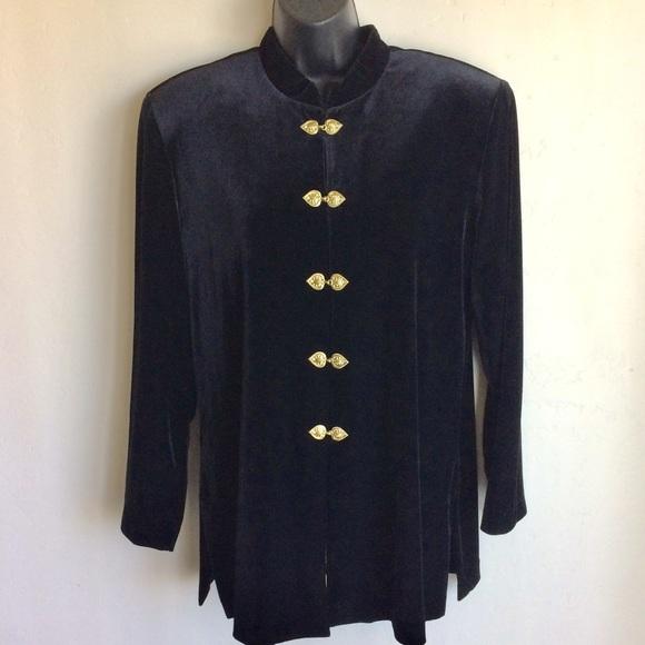 JBS Jackets & Blazers - JBS Black India Style Jacket Size 12